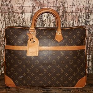 Authentic Louis Vuitton Monogram Luggage Bag